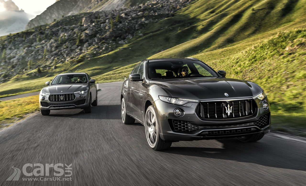 Maserati Levante S SUV UK specs revealed for the GranLusso and GranSport