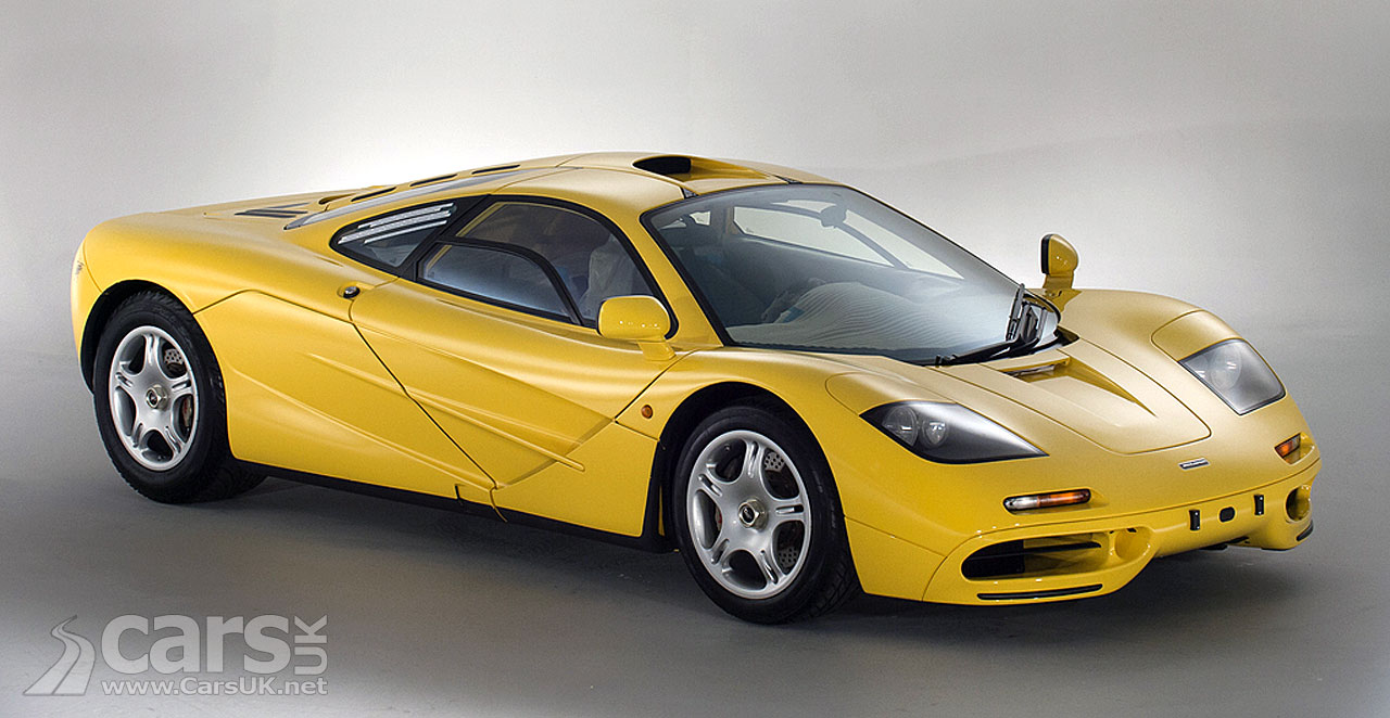 McLaren F1 #060 (pictured) is now up for sale in the UK