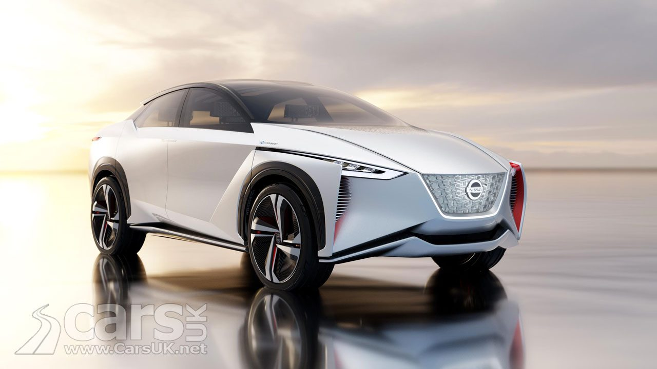The Nissan iMX Zero-Emission Concept arrives at the Tokyo Motor Show
