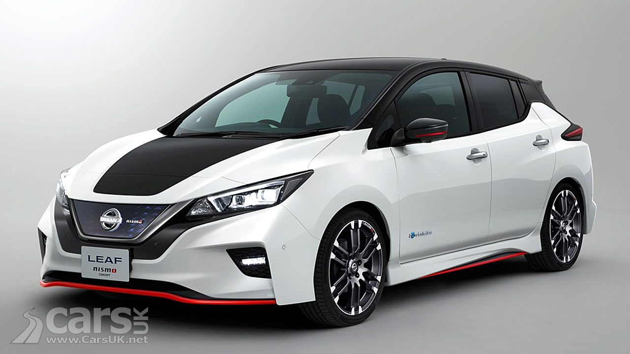 Nissan LEAF Nismo Concept previews a new 'Sporty' LEAF