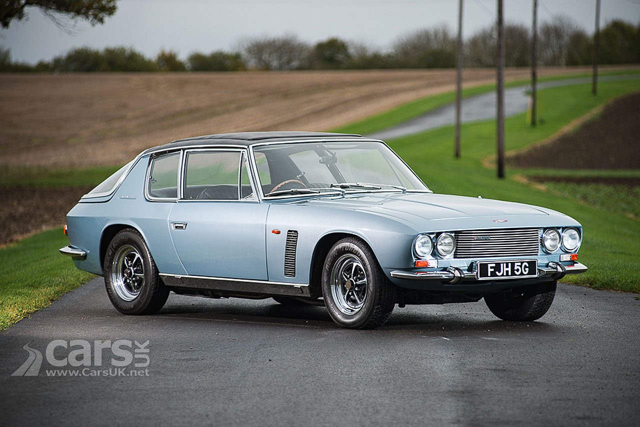 Eric Morecambe's 1968 Jensen Interceptor Mk 1 up for auction