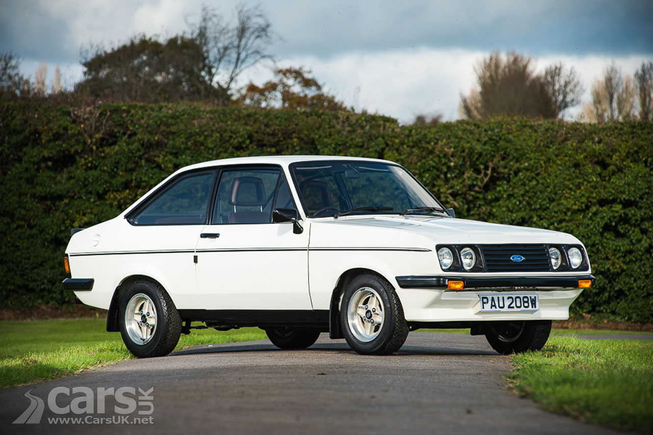 1980 Ford Escort Mk2 RS2000 Custom which went for an incredible £97,875