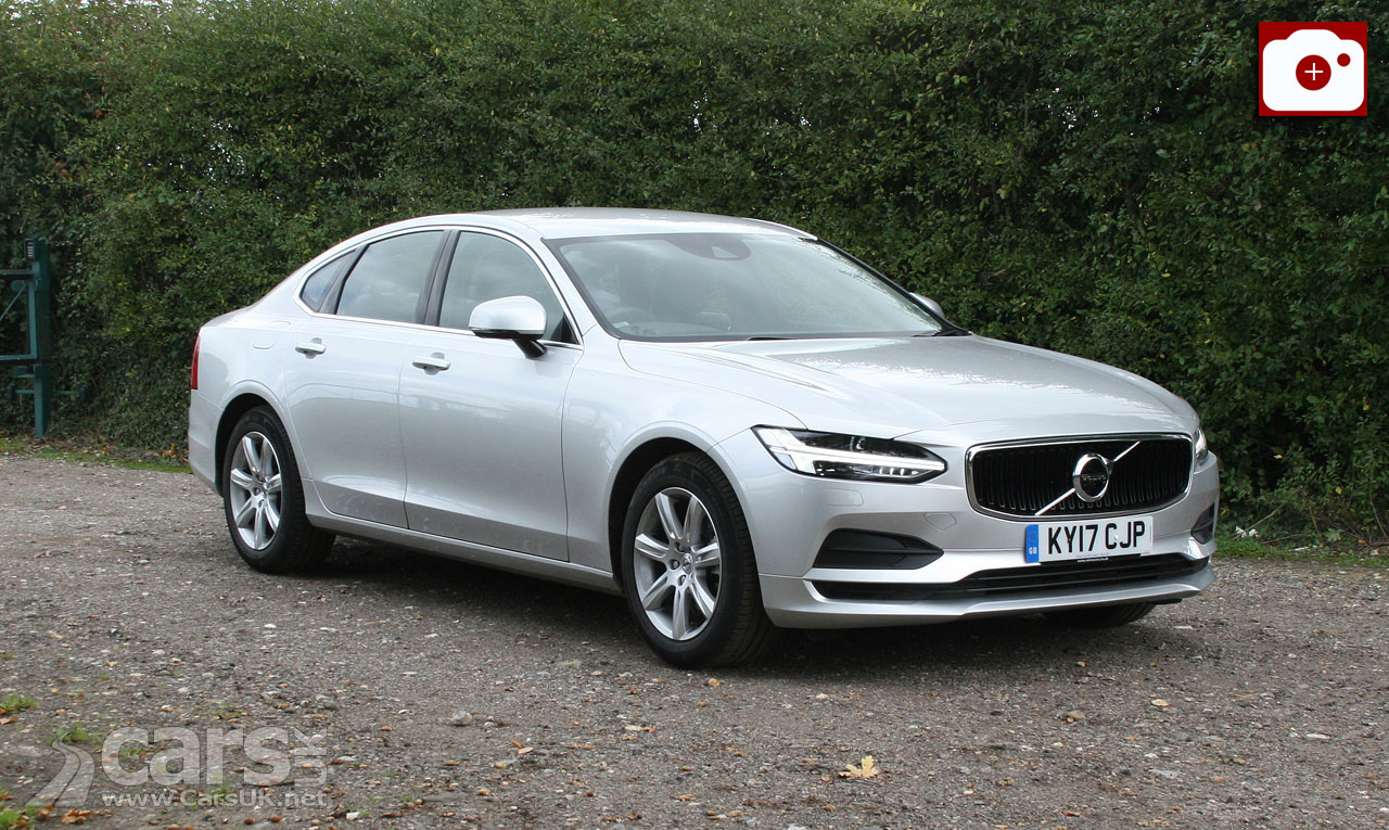 Volvo S90 S4 Momentum Review (2017)