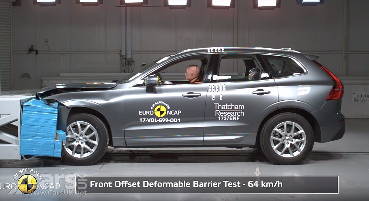 New Volvo XC60 is the SAFEST car of 2017 in latest Euro NCAP tests