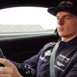 Aston Martin put Max Verstappen in the new VANTAGE (video)
