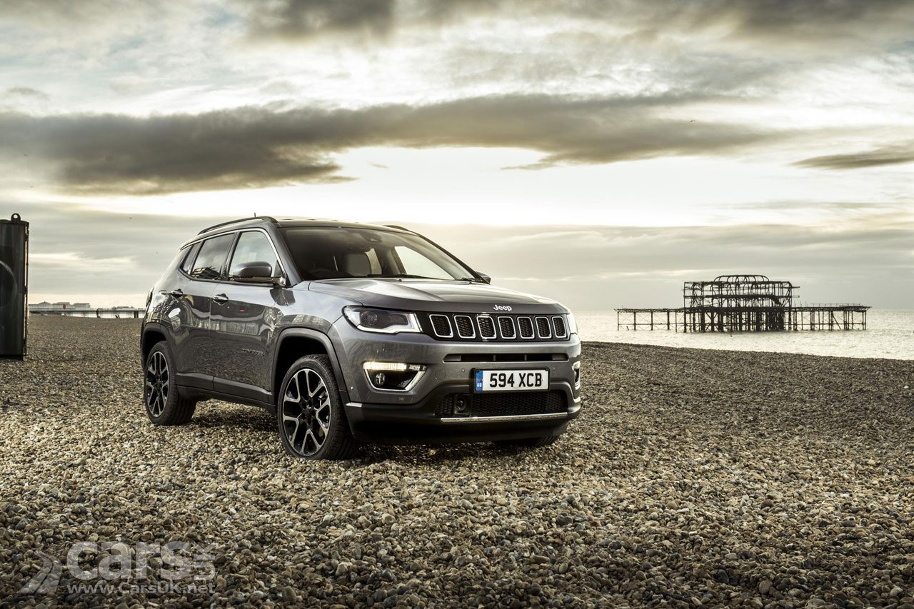 Jeep Compass SUV arrives back in the UK