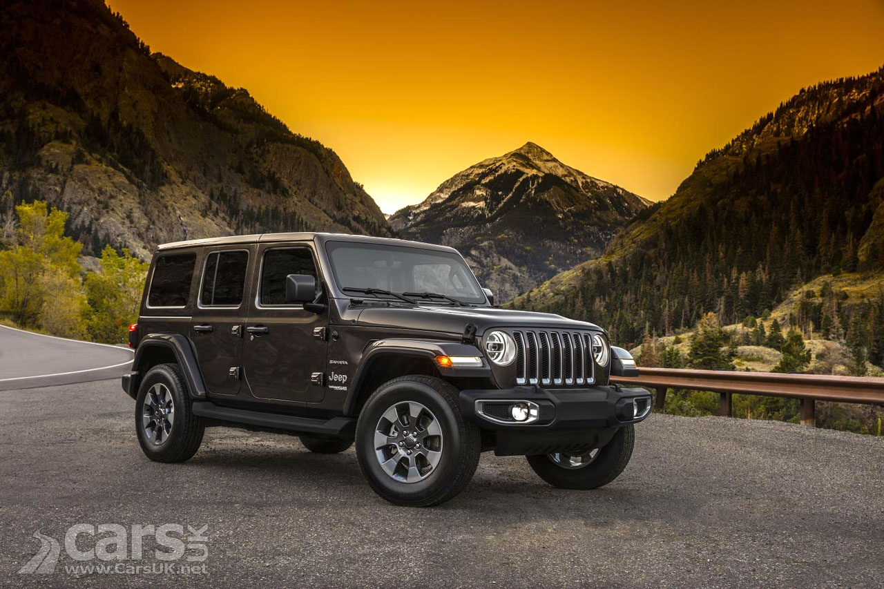 2018 Jeep Wrangler REVEALED ahead of LA Motor Show debut