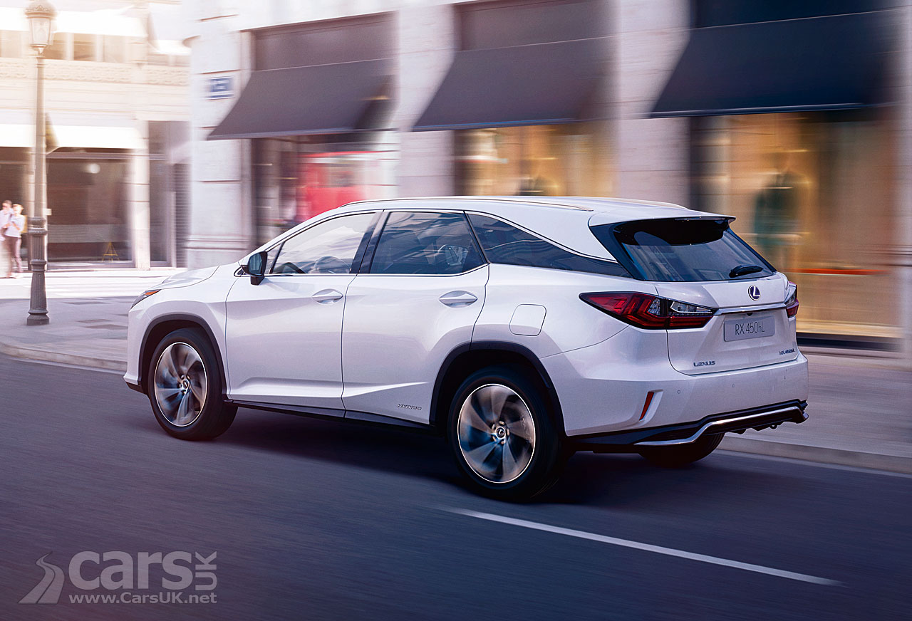 Lexus Rx L 450h Uk Prices And Specs Around A 2 4k Premium For The