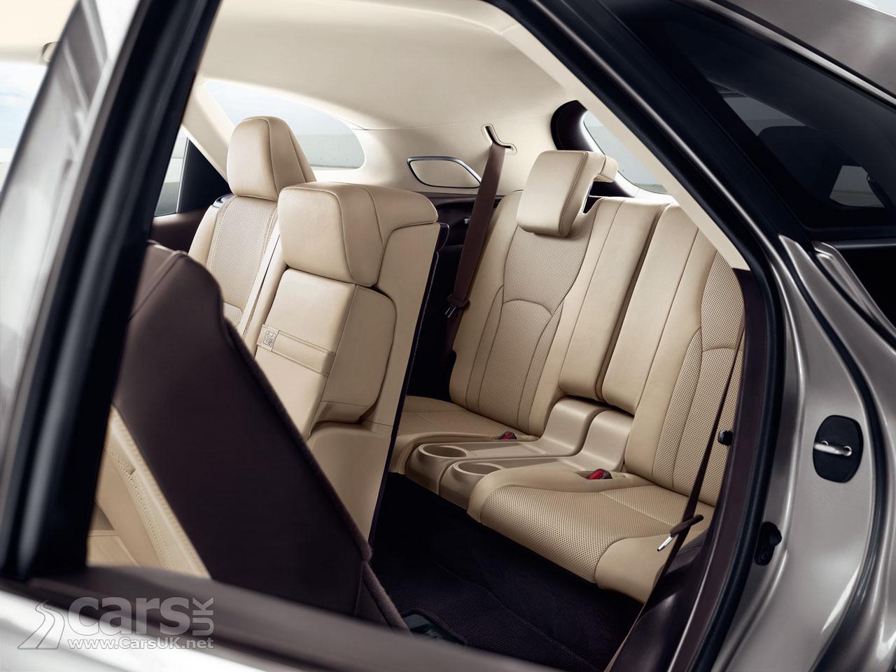 The Lexus RX L Interior