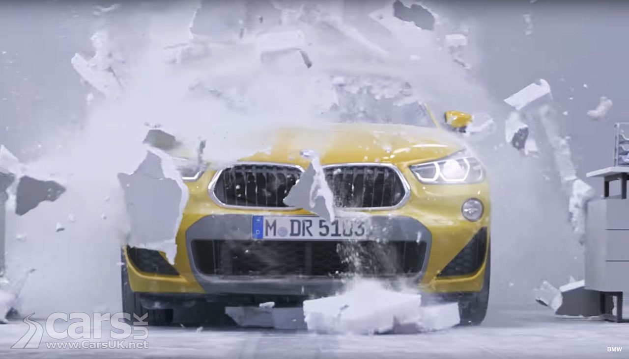 BMW's X2 new advert for the X2 SUV