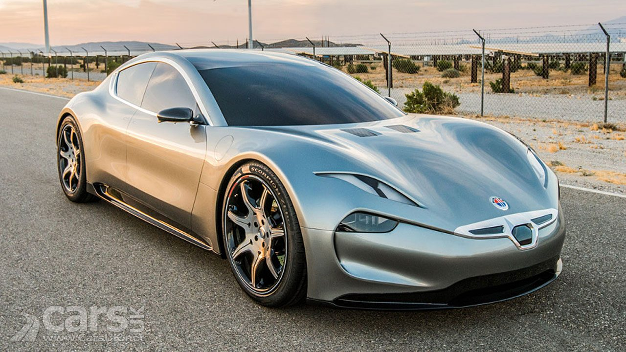 The Fisker EMotion EV (pictured) will arrive before Fisker's new solid state batteries