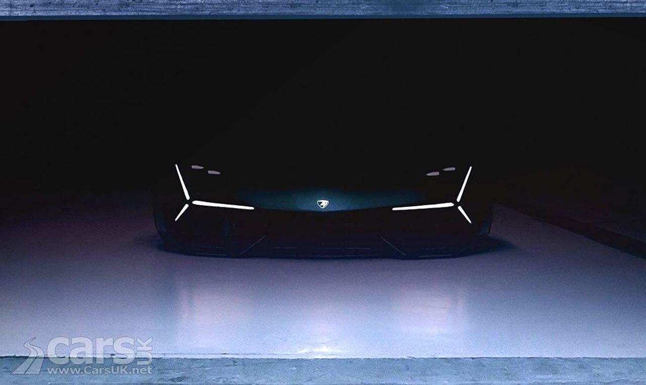 Lamborghini Tease 'Super Sports Car' REVEAL