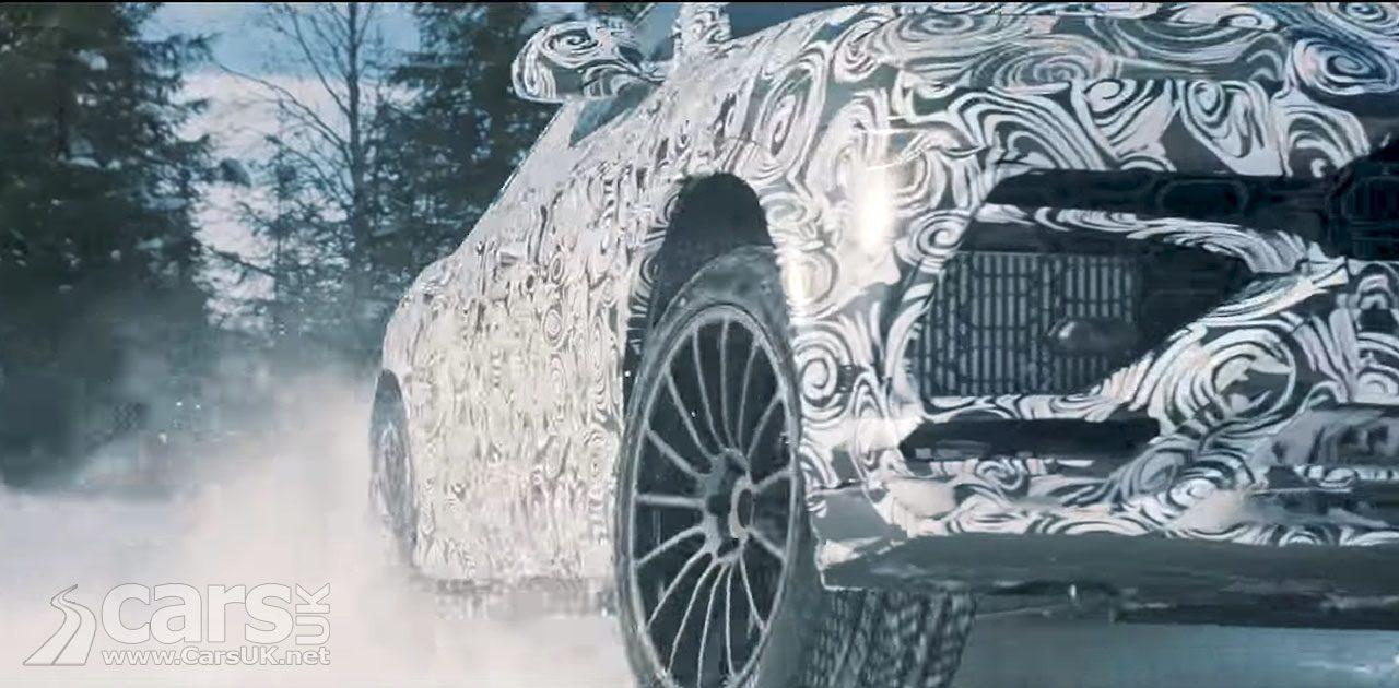 The Lamborghini Urus tackles a snowscape in the latest tease video