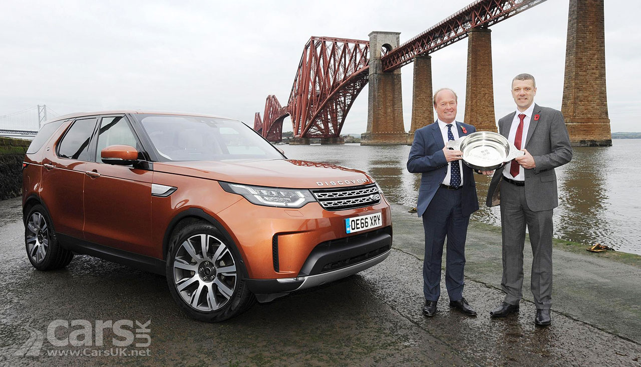 Land Rover Discovery is the 2017 SCOTTISH Car of the Year