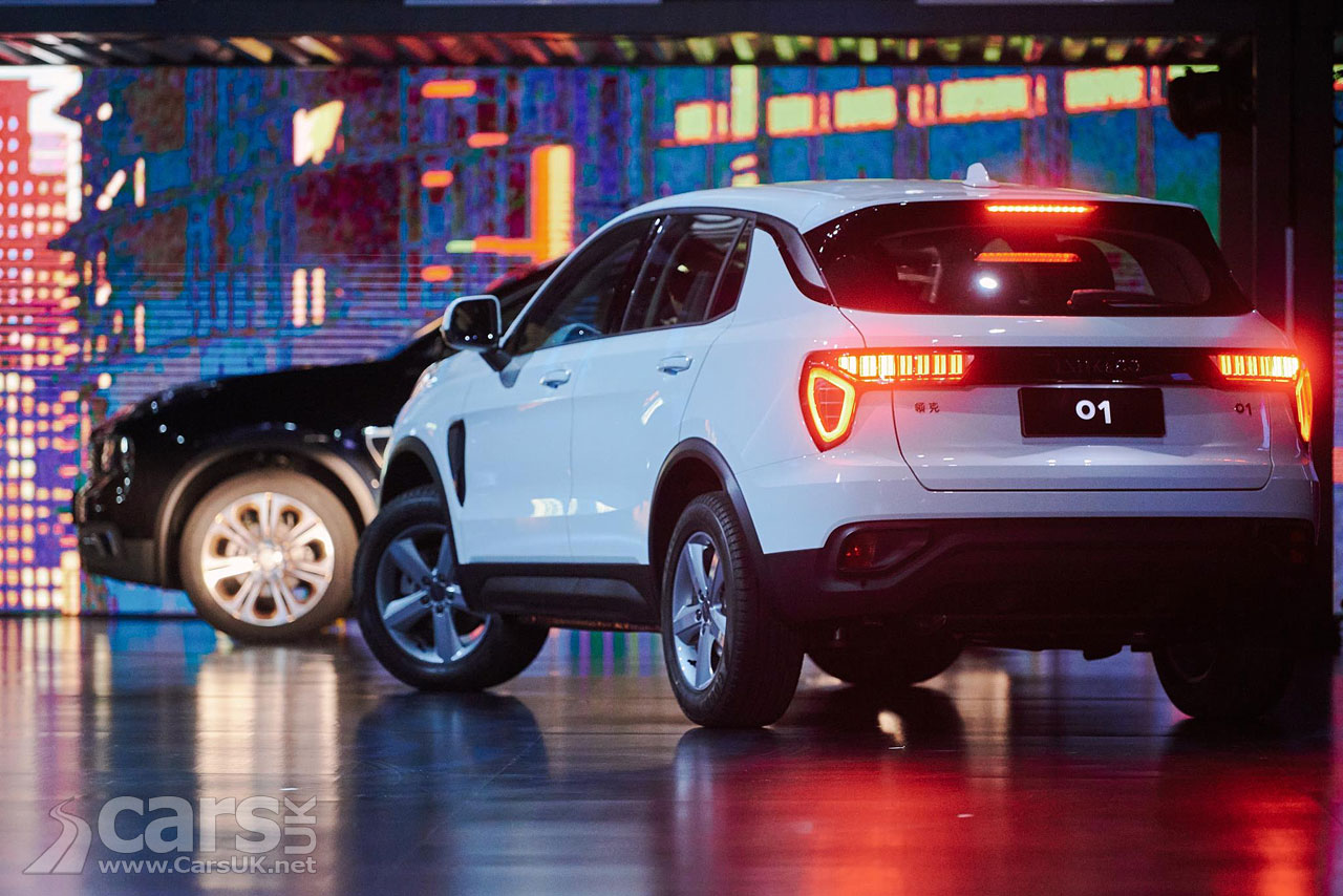 Volvo S Lynk Amp Co 01 Suv Sets World Record Sales In China