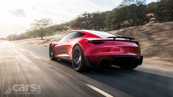 New Tesla Roadster Photo