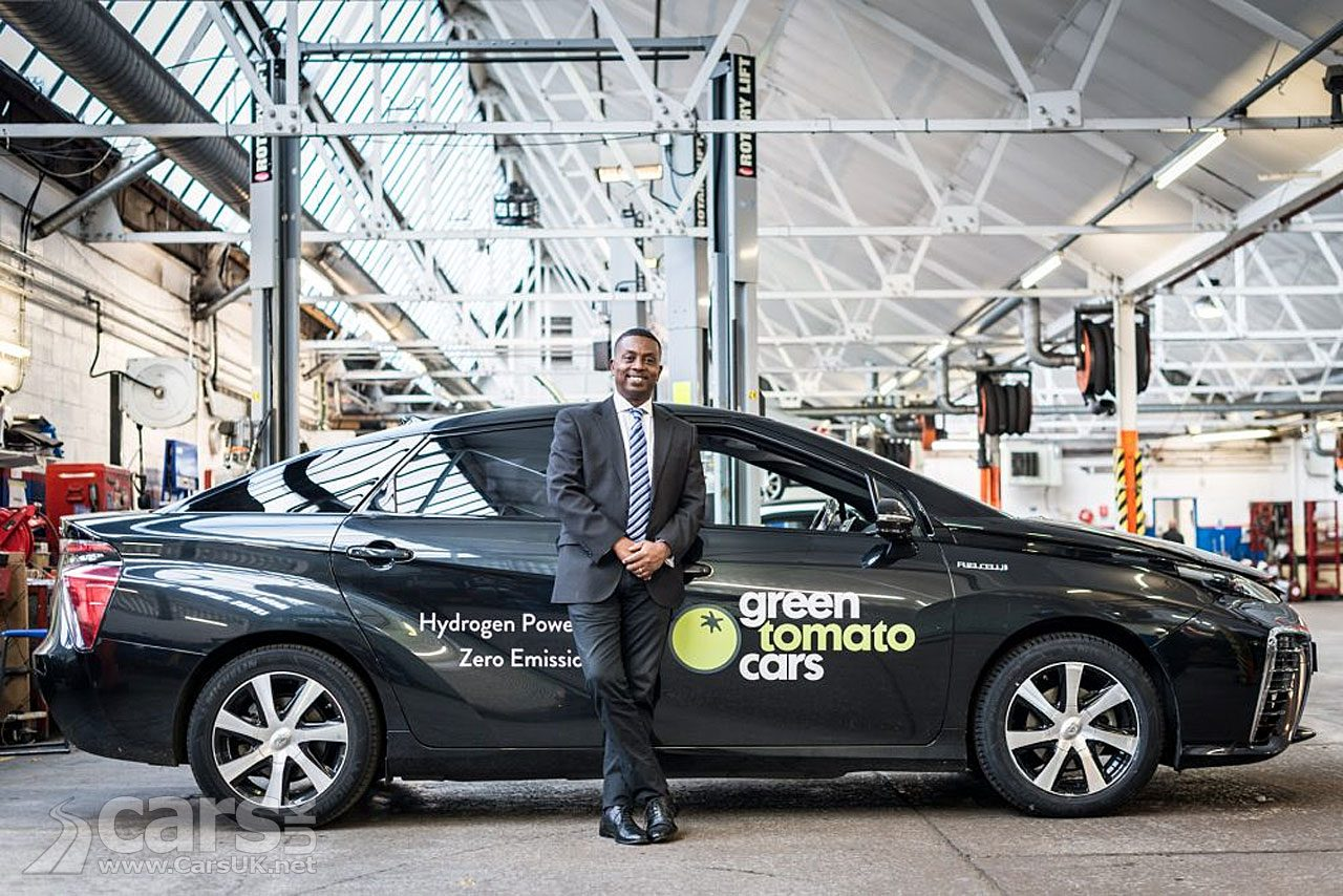 Green Tomato Private Hire has done 50k trouble-free miles in their Mirai Hydrogen EV