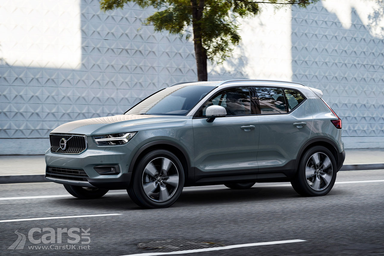 New Volvo XC40 BEATS BMW X1 and Audi Q3 Residual Values