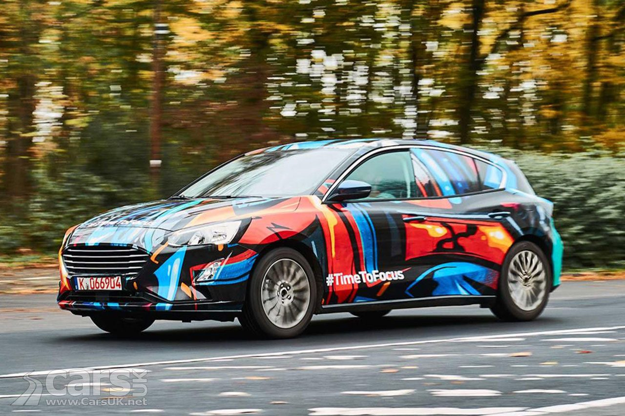 The first photo of the 2018 Ford Focus