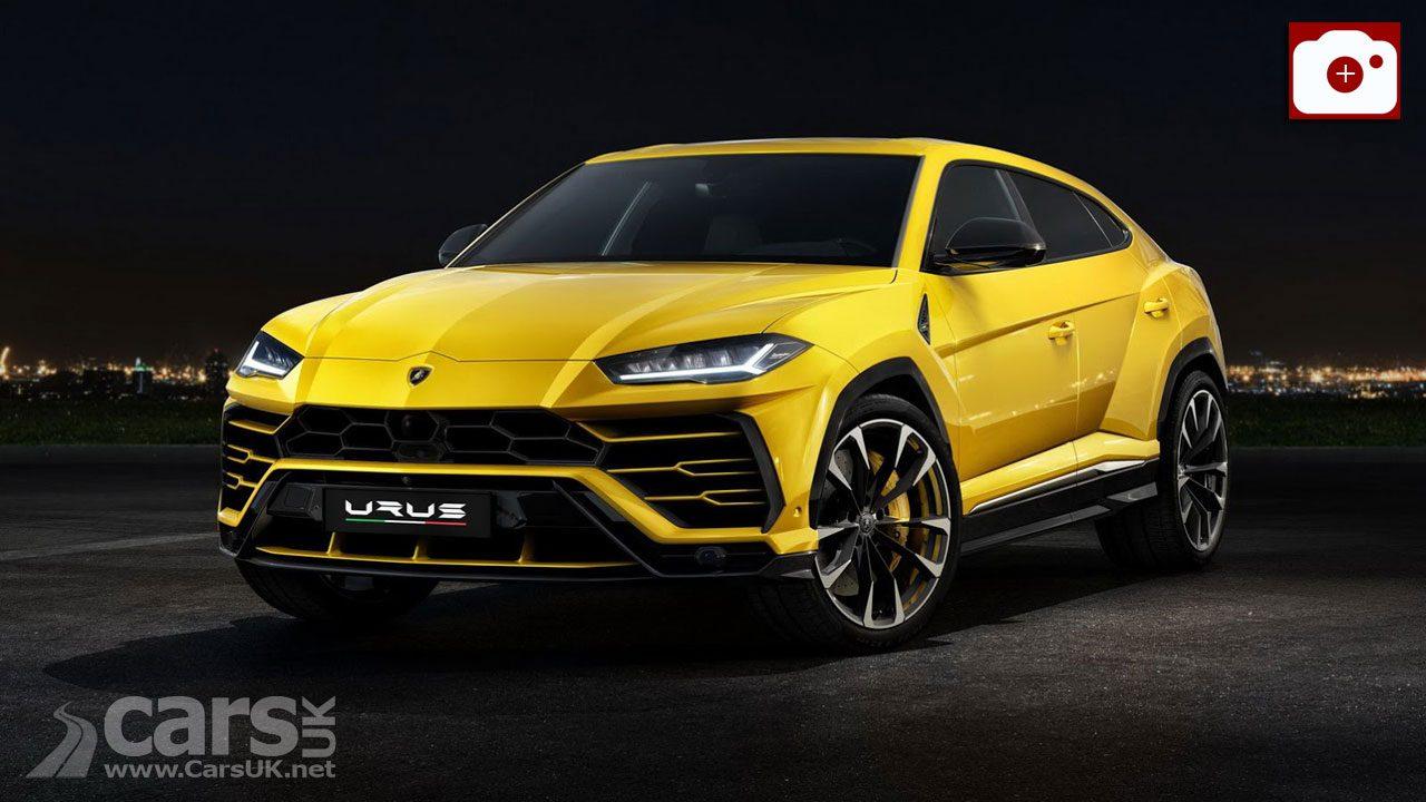 2018 Lamborghini Urus SUV OFFICIALLY revealed