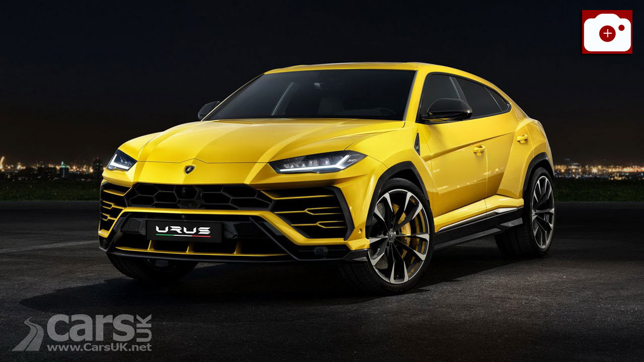 Lamborghini Suv Urus >> 2018 Lamborghini Urus SUV OFFICIALLY revealed | Cars UK