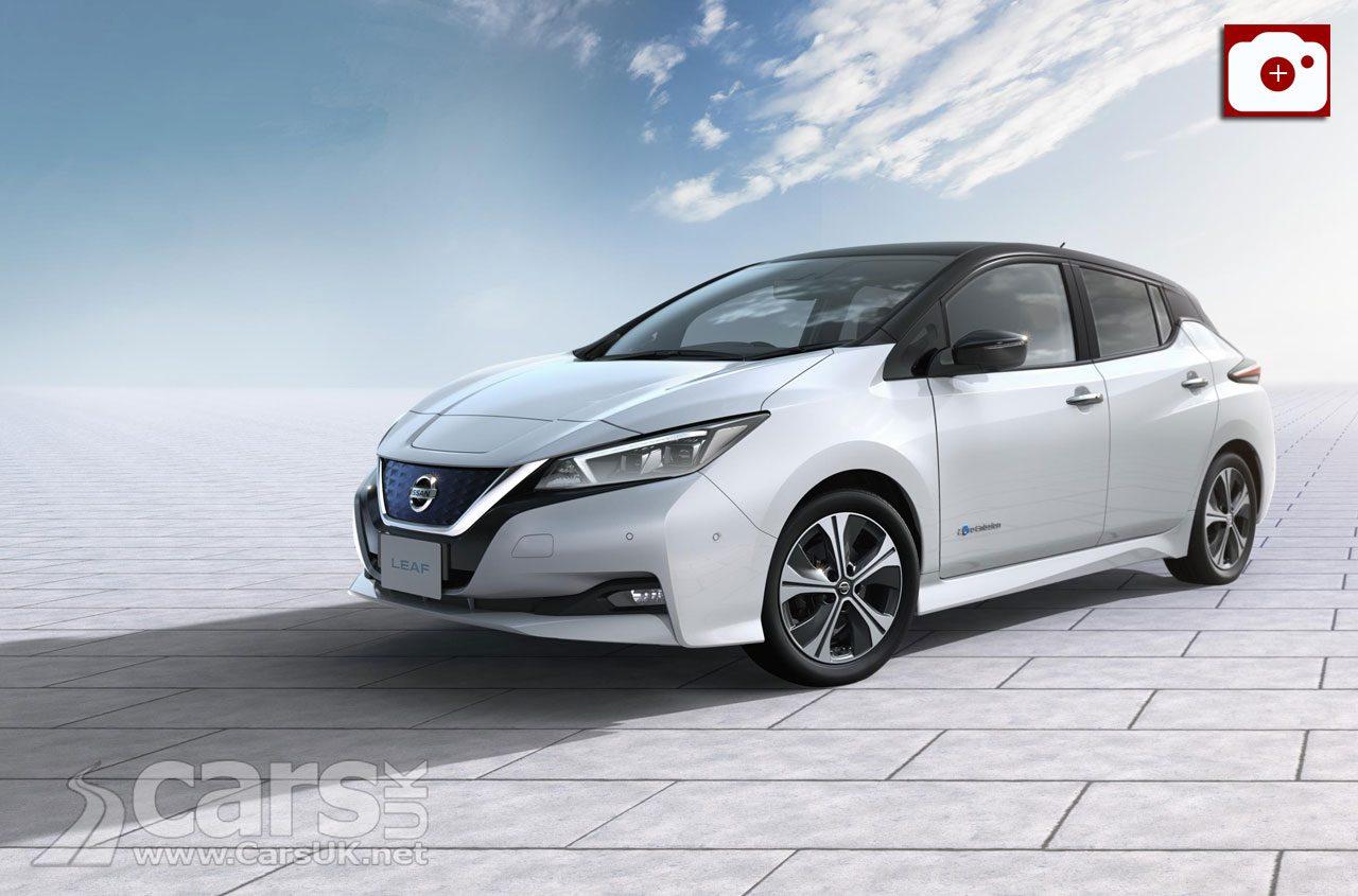 Production of the 2018 Nissan LEAF starts in Sunderland