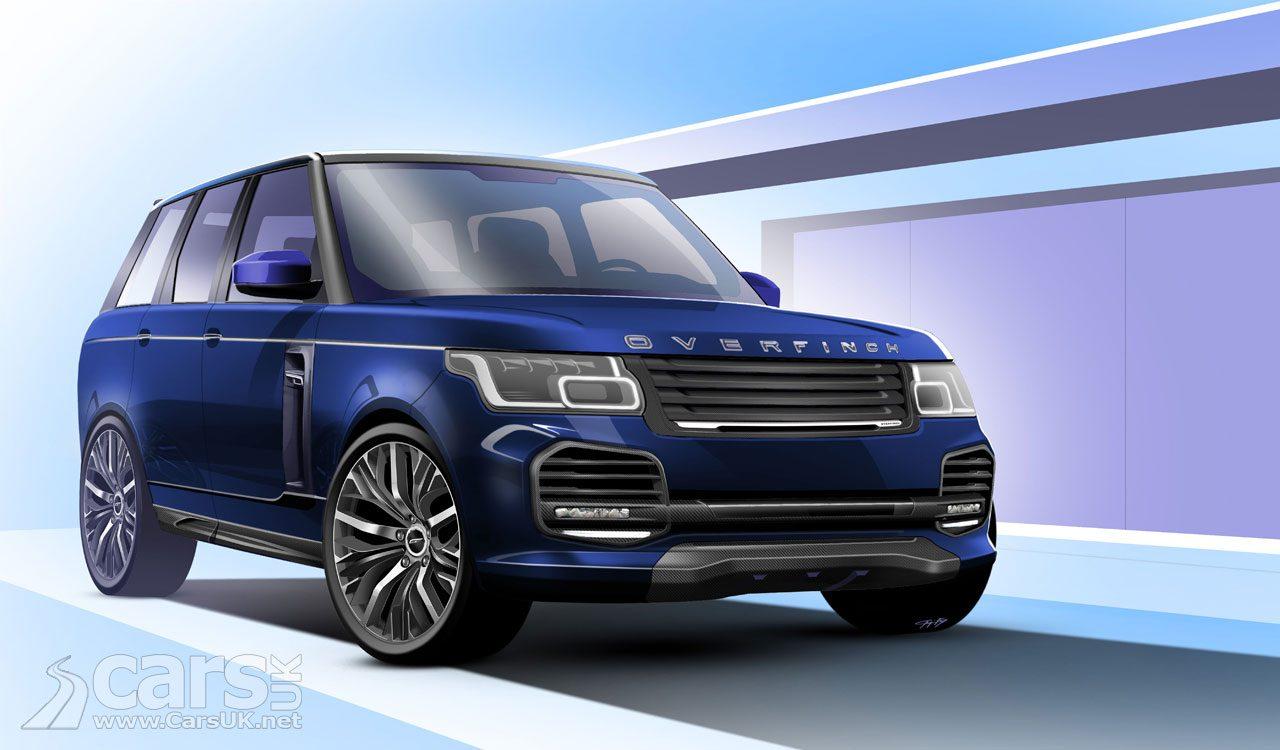 2018 Range Rover Overfinch revealed