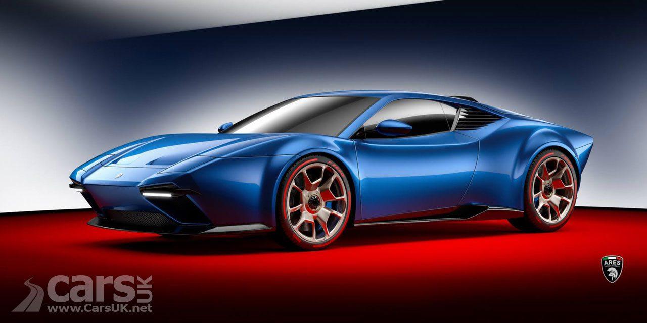 Project Panther - a Lamborghini Huracan with De Tomaso Pantera skin