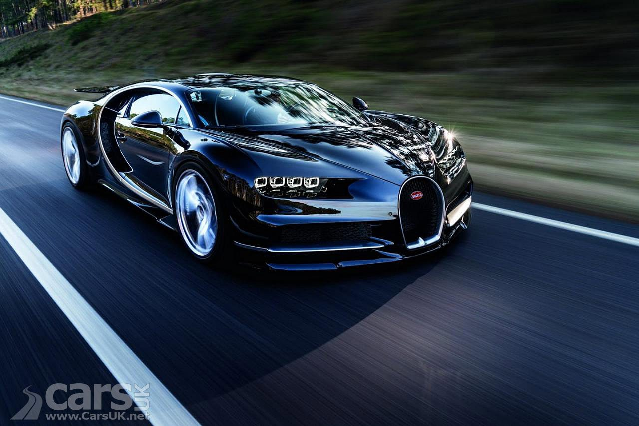 70 lucky owners have taken delivery of the Bugatti Chiron in 2017