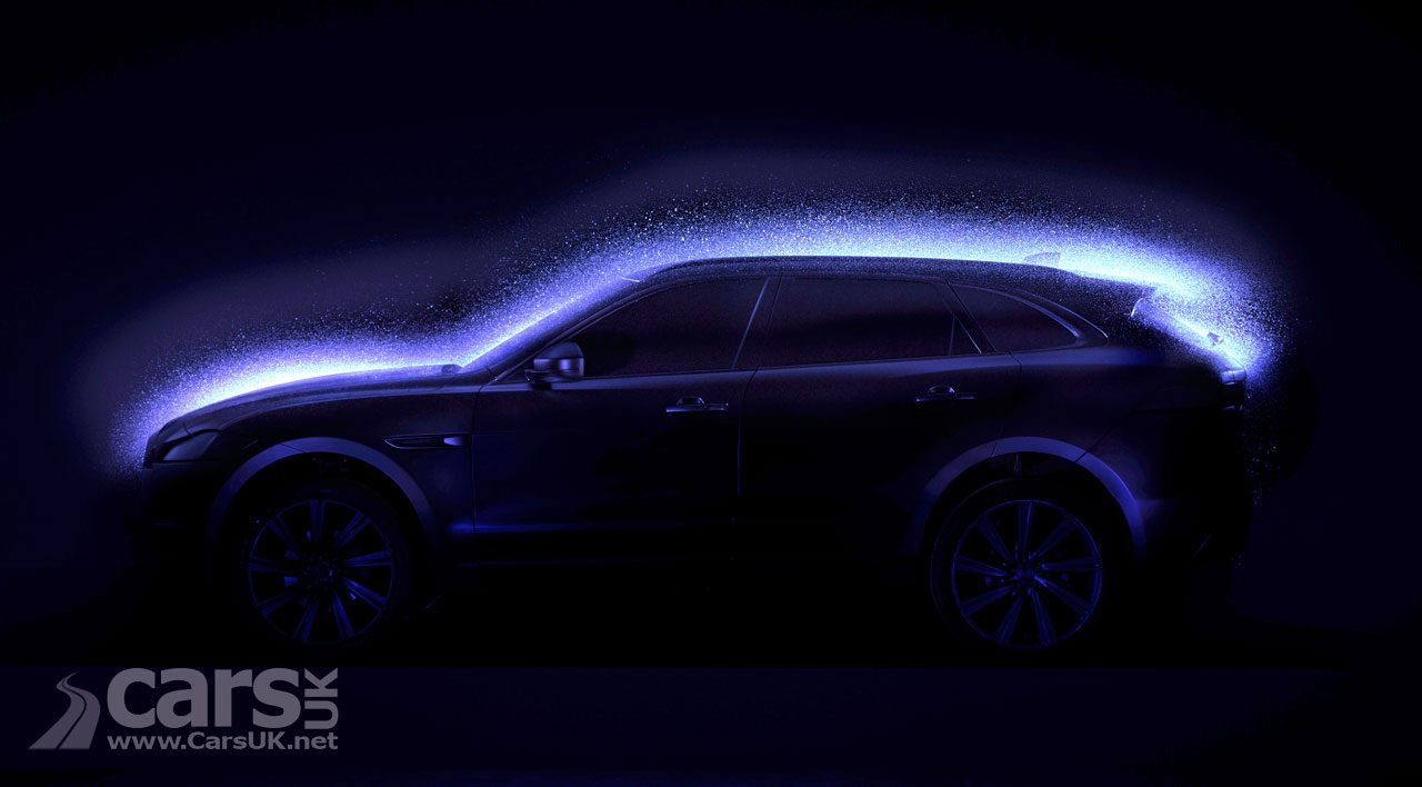 Jaguar F-Pace SUV gets a special film to celebrate its 70 awards - Blacklight