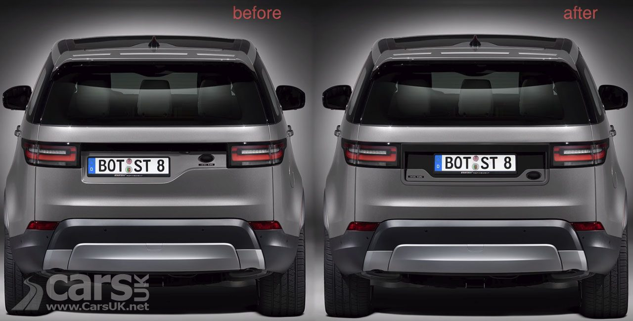 Land Rover Discovery's WONKY-looking tailgate FIXED