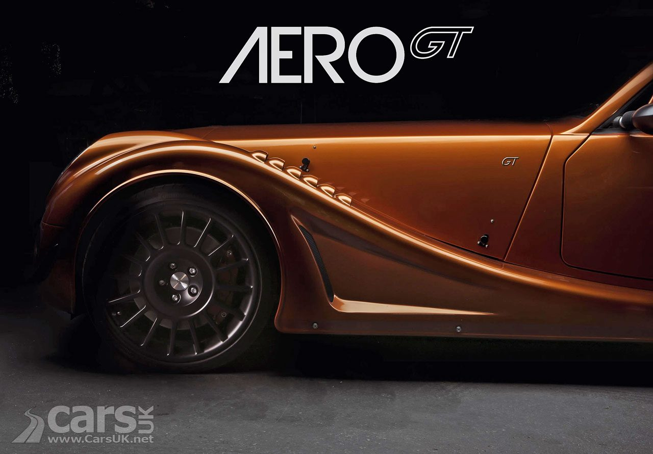 Morgan Aero GT TEASED