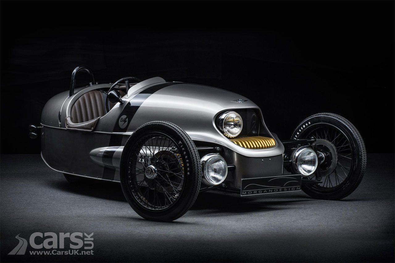 Morgan EV3 - Morgan's Electric 3-Wheeler