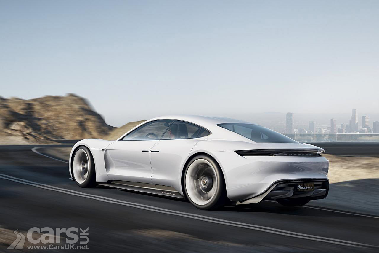 Porsche Mission E four-door ELECTRIC supercar will get up to 670 BHP