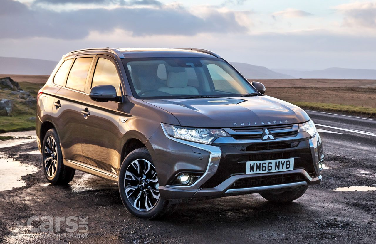 Mitsubishi Outlander PHEV hits 100k European sales