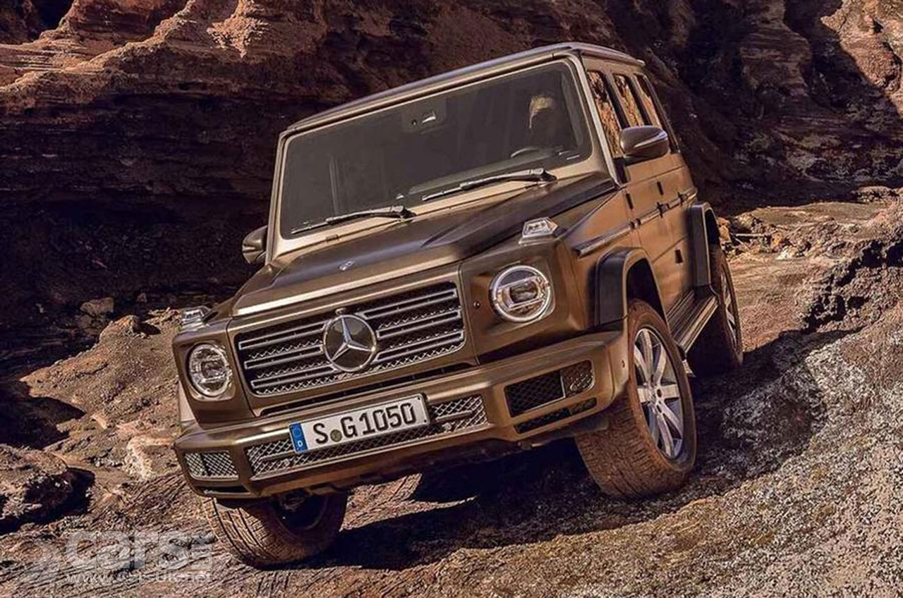 THIS is the new Mercedes G-Class - ahead of its Detroit reveal