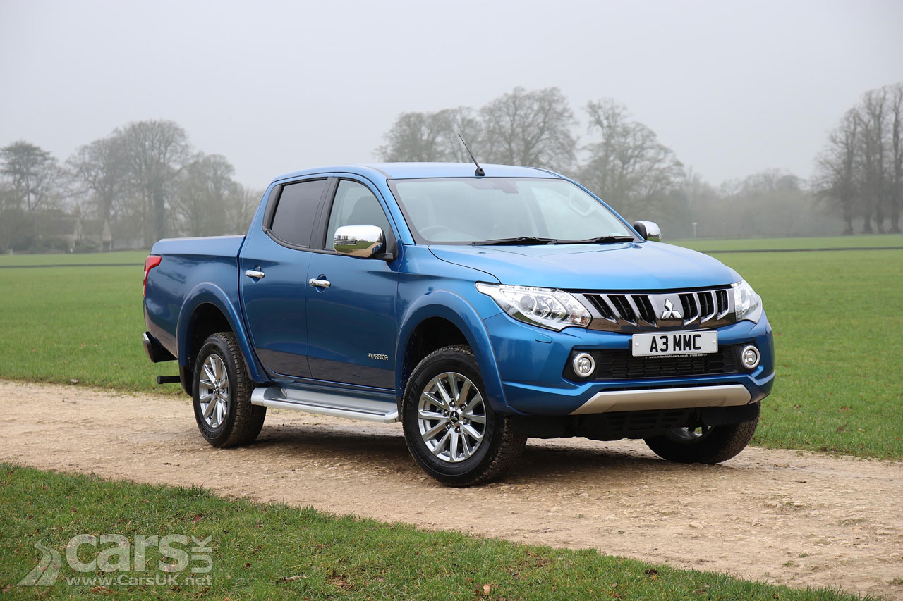 mitsubishi l200 pick up gets tougher for 2018 cars uk. Black Bedroom Furniture Sets. Home Design Ideas