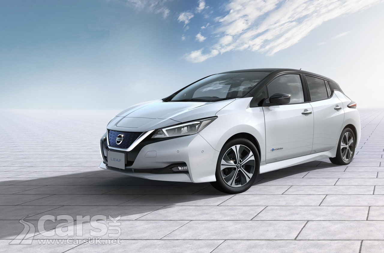 Nissan Leaf E Plus On The Way With 215bhp And 300 Mile Range
