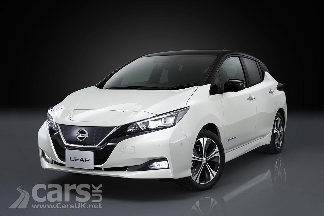 2018 Nissan LEAF UK Prices and specs