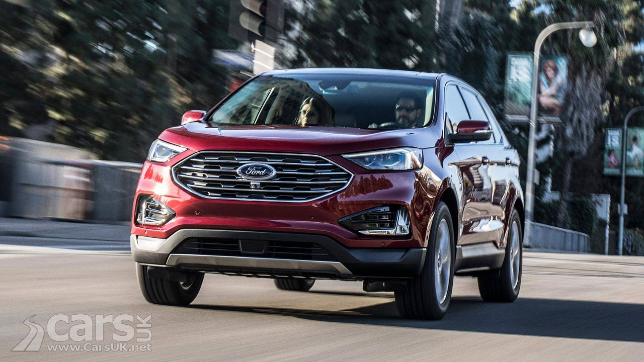 ford edge suv facelift revealed ahead of detroit debut cars uk