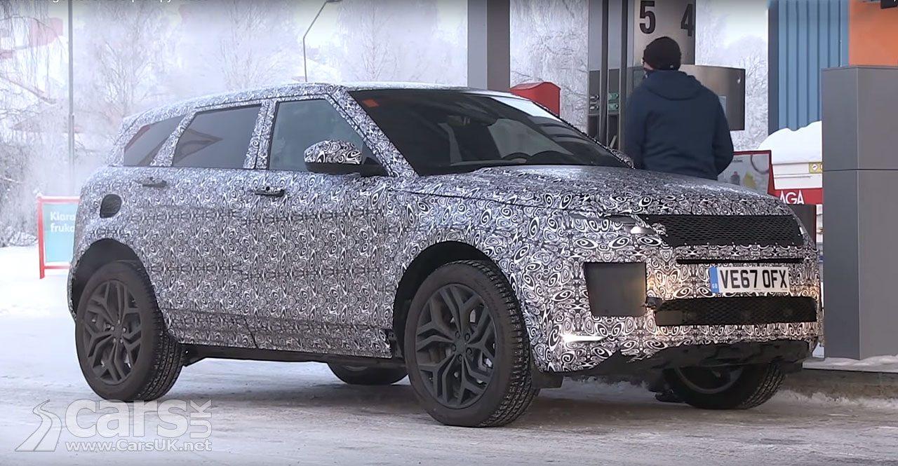 2019 Range Rover Evoque Spy