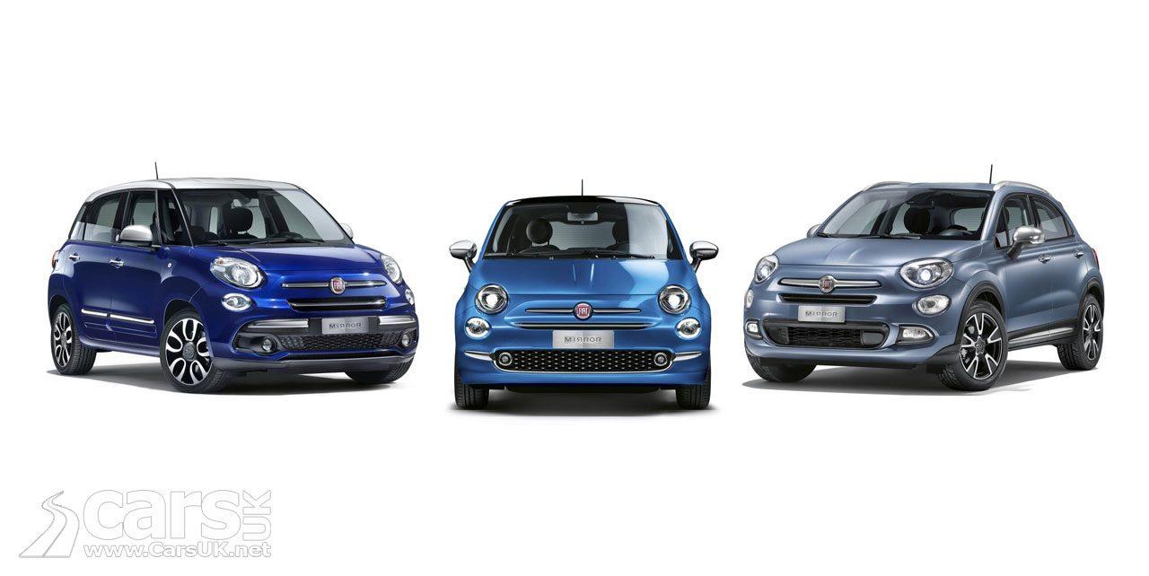 The Fiat 500 Mirror Family