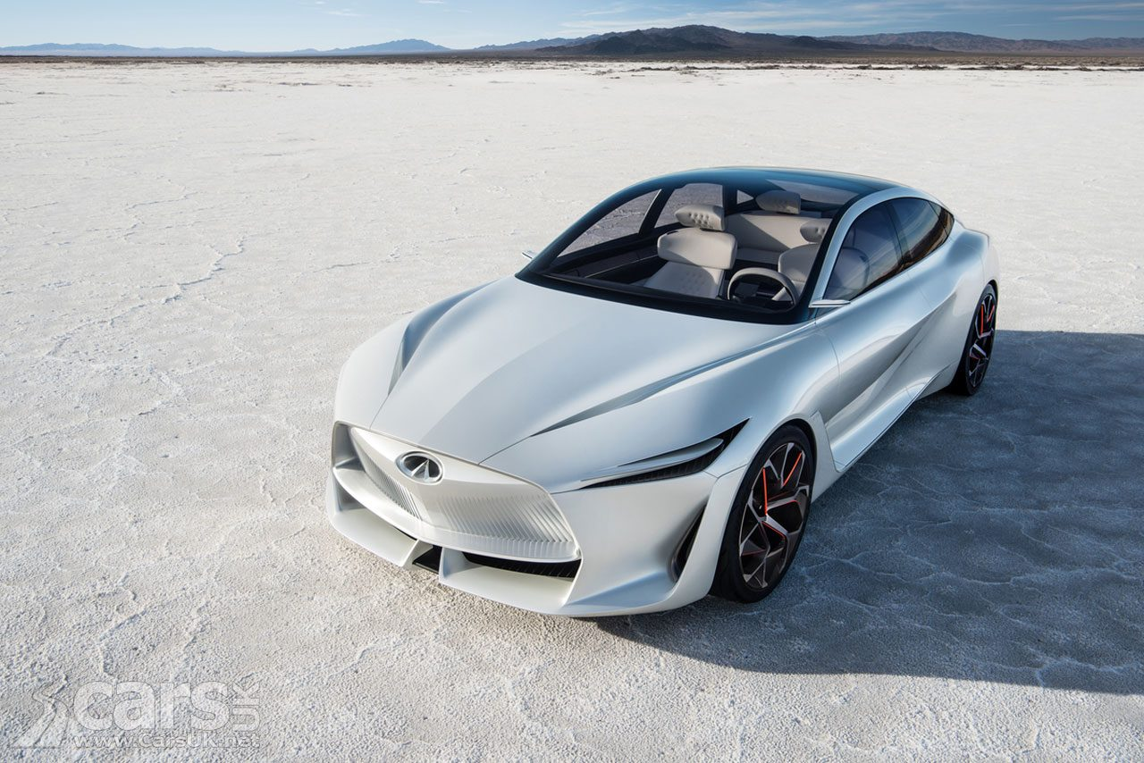 Infiniti Q Inspiration Concept - the FRONT end arrives