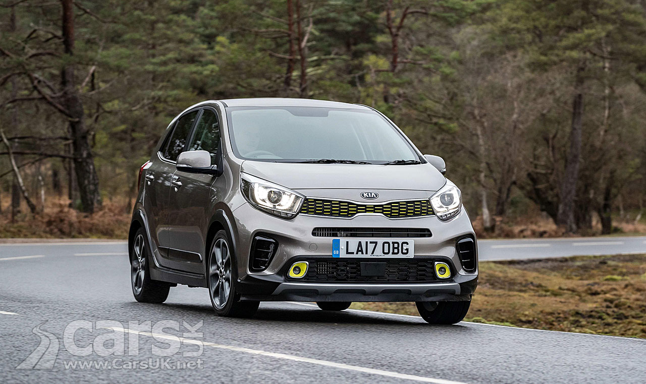 kia picanto x line uk price and spec announced cars uk. Black Bedroom Furniture Sets. Home Design Ideas