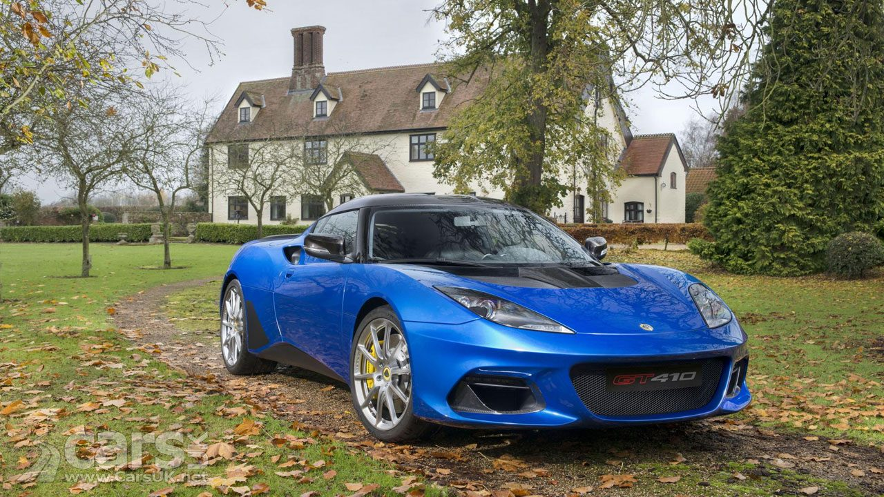 Lotus Evora GT410 Sport REVEALED