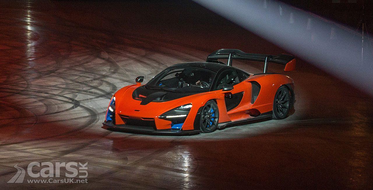 McLaren Senna in ACTION at new McLaren Composites Technology Centre