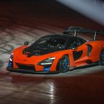 McLaren Senna in ACTION at new McLaren Composites Technology Centre (video)