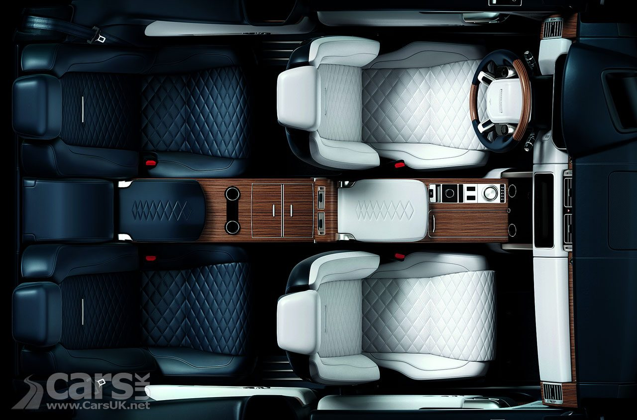 Two-door Range Rover SV Coupe interior teased