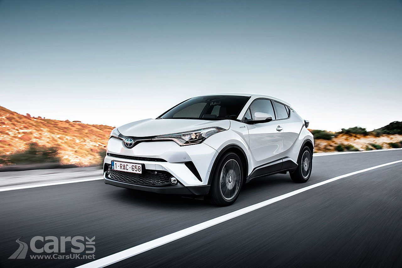 Toyota C-HR Hybrid - helped Toyota CUT its average CO2 emissions