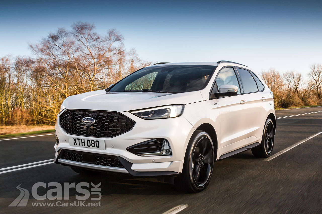 2018 ford edge suv gets new 235bhp diesel and st line in the uk but no petrol option cars uk. Black Bedroom Furniture Sets. Home Design Ideas